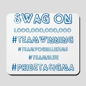 Phi Beta Sigma Swag Mousepad