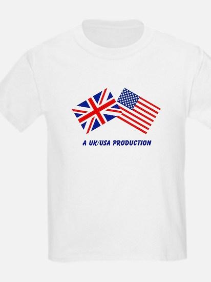 A UK/USA Production Kids T-Shirt