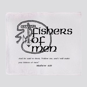 Fishers of Men Throw Blanket