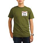 Academy of Immortal Palm Organic Men's T-Shirt (da