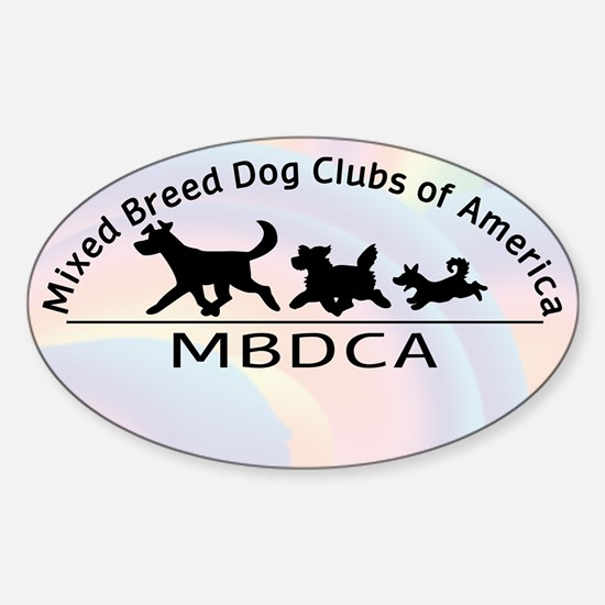 Mixed Breed Dog Club of Ameri Sticker (Oval)