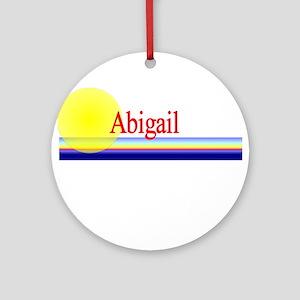 Abigail Ornament (Round)