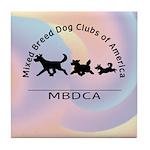 Mixed Breed Dog Club of Ameri Tile Coaster