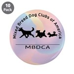 "Mixed Breed Dog Club of Ameri 3.5"" Button (10 pack"