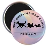 "Mixed Breed Dog Club of Ameri 2.25"" Magnet (10 pac"