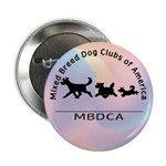 "Mixed Breed Dog Club of Ameri 2.25"" Button (100 pa"