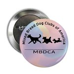 "Mixed Breed Dog Club of Ameri 2.25"" Button"
