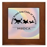 Mixed Breed Dog Club of Ameri Framed Tile