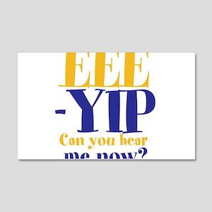 EEE-YIP 22x14 Wall Peel