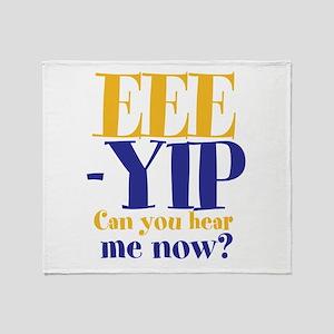 EEE-YIP Throw Blanket