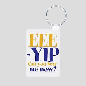 EEE-YIP Aluminum Photo Keychain