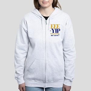 EEE-YIP Women's Zip Hoodie