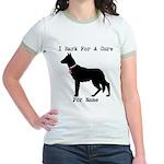 German Shepherd Personalizable I Bark For A Cure J