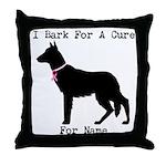 German Shepherd Personalizable I Bark For A Cure T