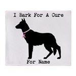 German Shepherd Personalizable I Bark For A Cure