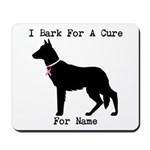 German Shepherd Personalizable I Bark For A Cure M