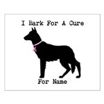 German Shepherd Personalizable I Bark For A Cure S