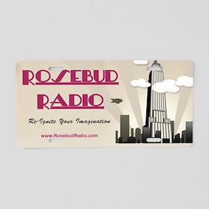Rosebud Radio license plate