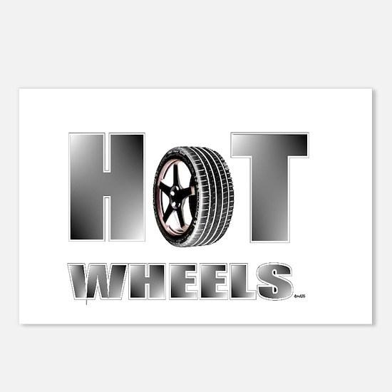 hot wheels Postcards (Package of 8)