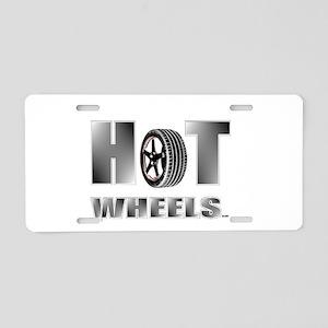 hot wheels Aluminum License Plate