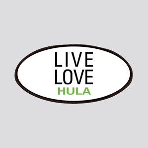 Live Love Hula Patches
