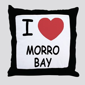 I heart morro bay Throw Pillow