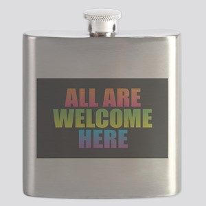 All Are Welcome Here Flask