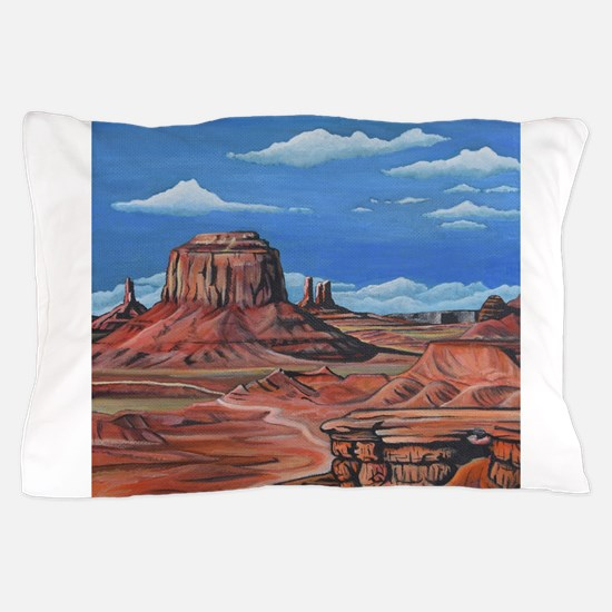Monument Valley (John Ford point) Pillow Case