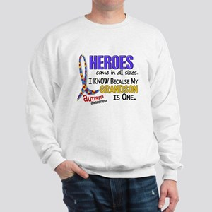 Heroes All Sizes Autism Sweatshirt
