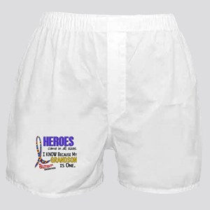Heroes All Sizes Autism Boxer Shorts