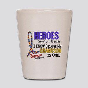 Heroes All Sizes Autism Shot Glass