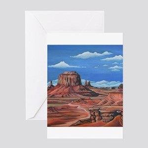 Monument Valley (John Ford point) Greeting Cards
