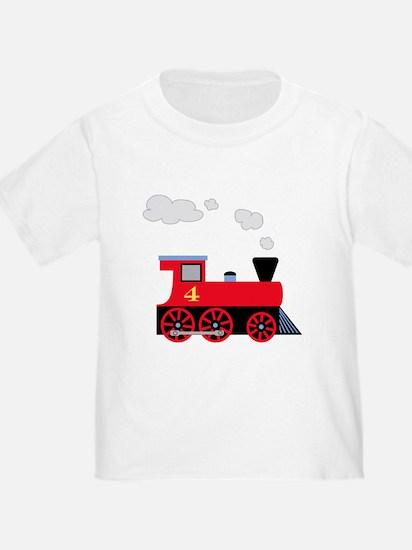 Cute Train birthday T