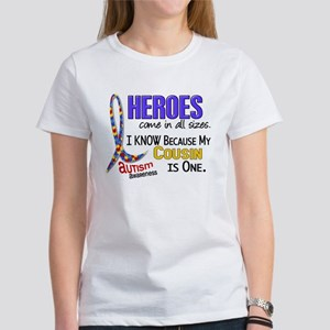 Heroes All Sizes Autism Women's T-Shirt