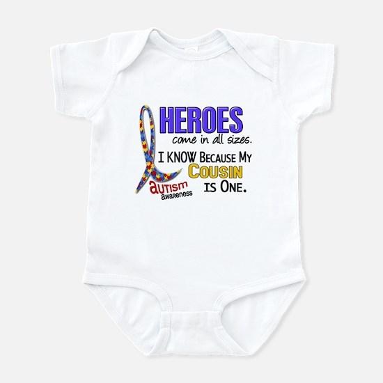 Heroes All Sizes Autism Infant Bodysuit