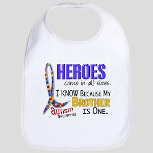 Heroes All Sizes Autism Bib