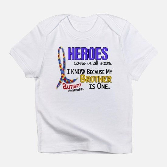 Heroes All Sizes Autism Infant T-Shirt