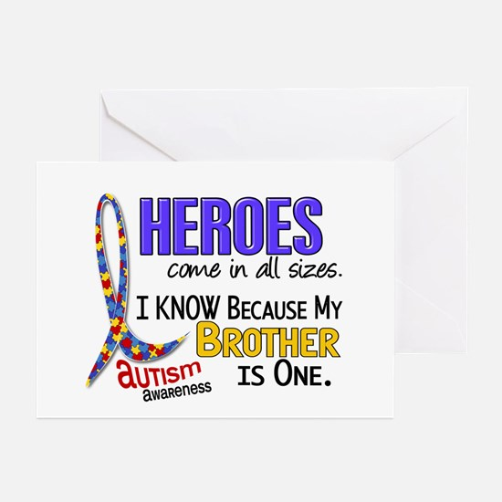 Heroes All Sizes Autism Greeting Cards (Pk of 10)