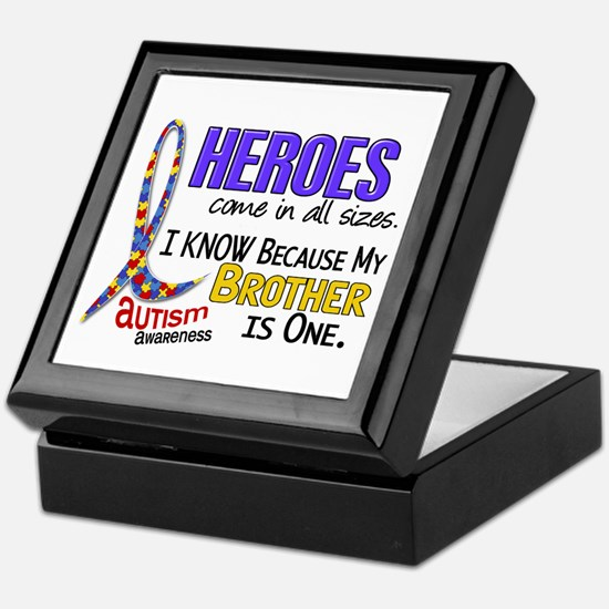 Heroes All Sizes Autism Keepsake Box