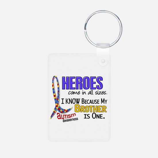 Heroes All Sizes Autism Keychains