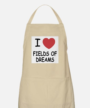 I heart fields of dreams Apron