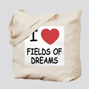 I heart fields of dreams Tote Bag