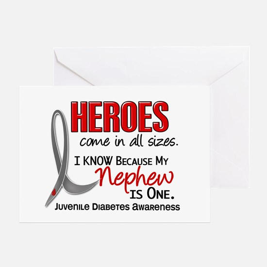 Heroes All Sizes Juv Diabetes Greeting Card