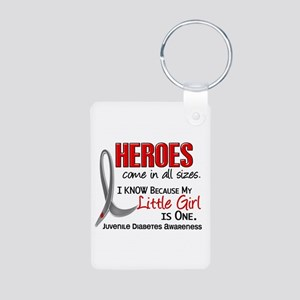 Heroes All Sizes Juv Diabetes Aluminum Photo Keych