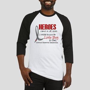 Heroes All Sizes Juv Diabetes Baseball Jersey