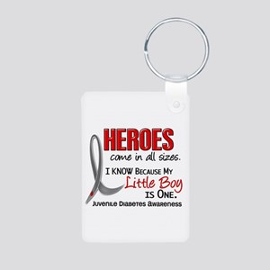 Heroes All Sizes Juv Diabetes Aluminum Photo Keych