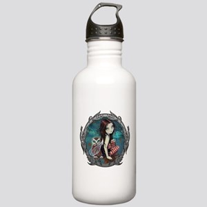 Autumn Owl and Fairy Stainless Water Bottle 1.0L