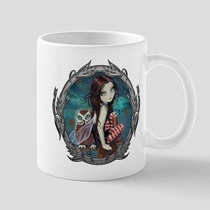 Autumn Owl and Fairy Mug