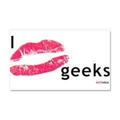 Kiss Geeks Car Magnet 20 x 12