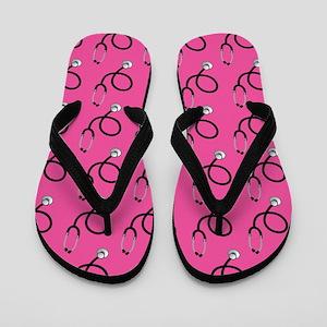 Nurse Pink Nursing Flip Flops